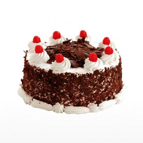 Round Shape Blackforest Cake
