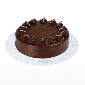 Round Shape Chocolate Cake
