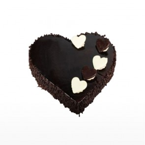 Heart Shape Chocolate Chips Cake