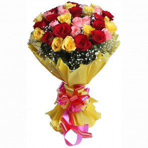 Bouquet of 3 Dozen Mix Roses