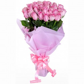 Bouquet of 50 Pink Roses