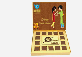 Rakhi Chocolats to India