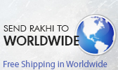 Send Rakhi to Worlwide